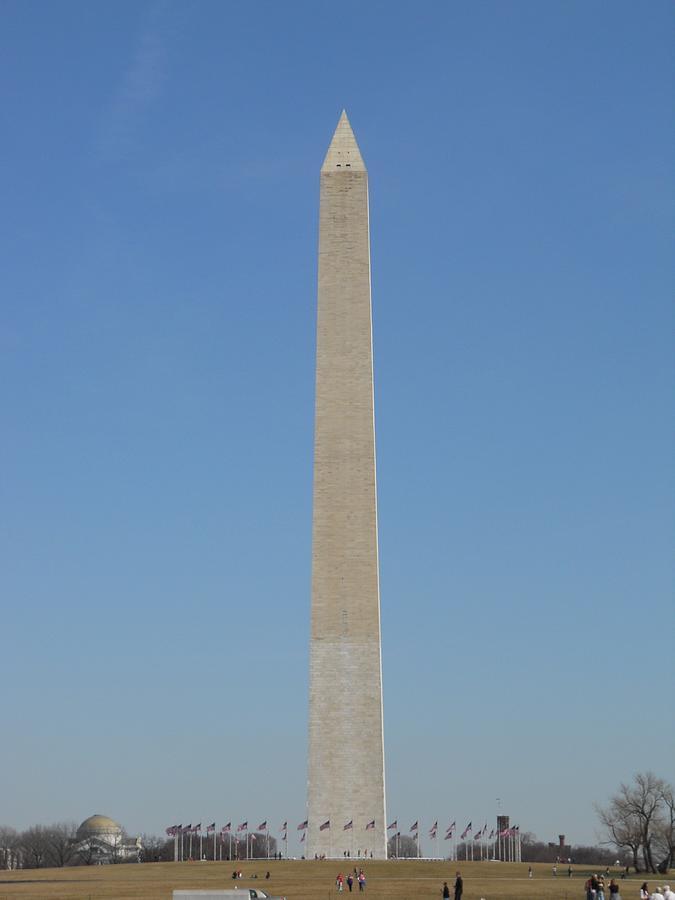 Washington Photograph - Washington Monument by Alan Espasandin