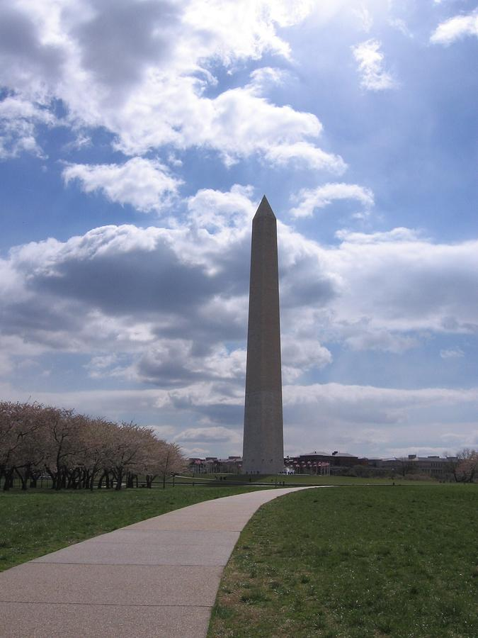Washington Monument by Karen J Shine