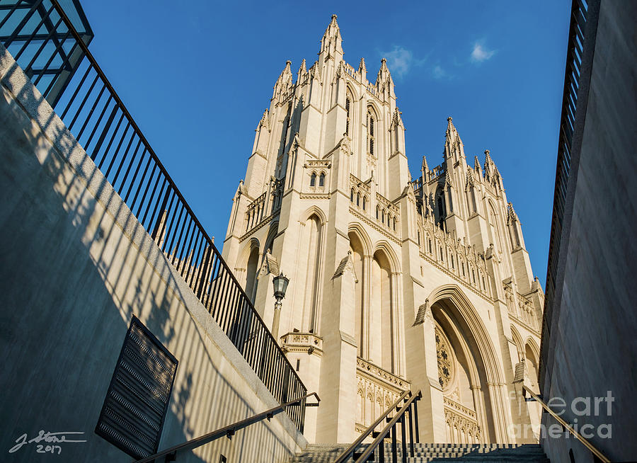 Washington National Cathedral Photograph by Jeffrey Stone