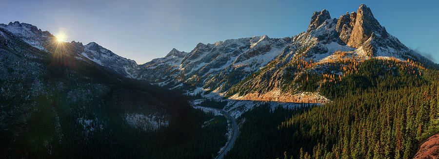 Washington Pass Rising by Dan Mihai