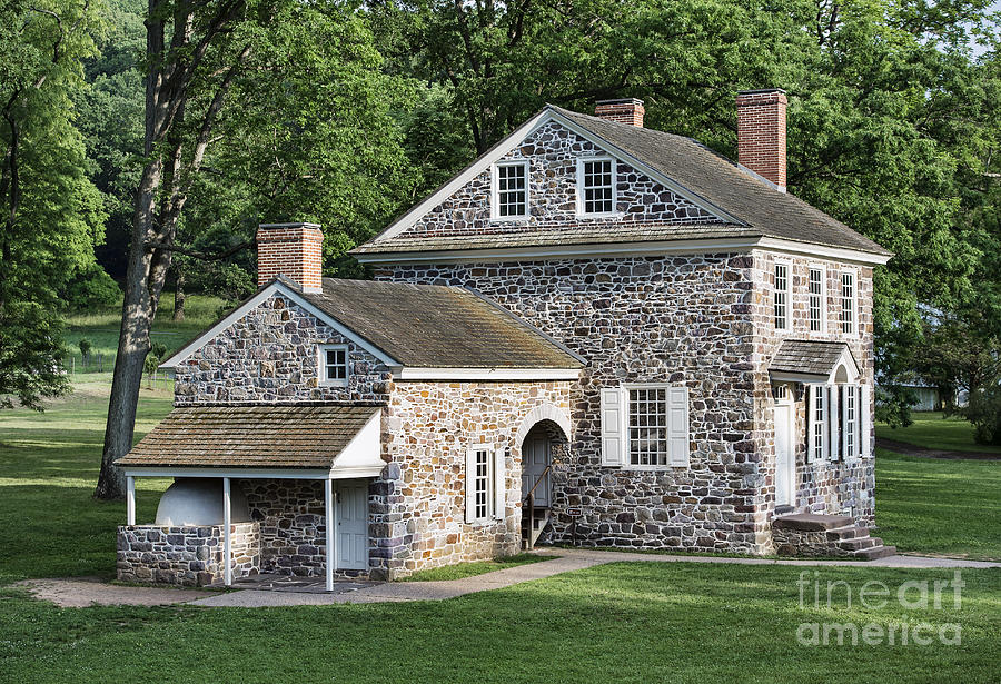 America Photograph - Washingtons Headquarters At Valley Forge by John Greim