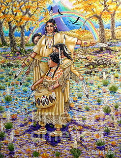 WASHOE MAIDENS by SANTIAGO CHAVEZ
