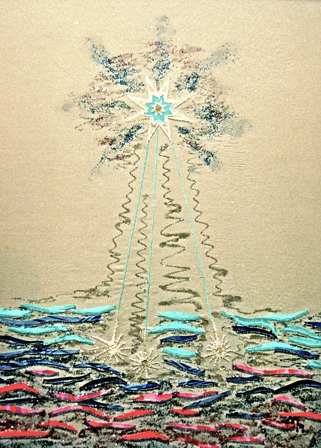 Star Relief - Wasserstern by Marie Halter