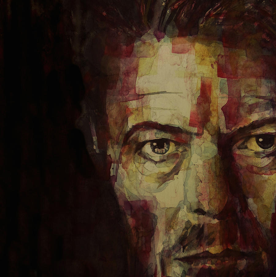 David Bowie Painting - Watch That Man Bowie by Paul Lovering