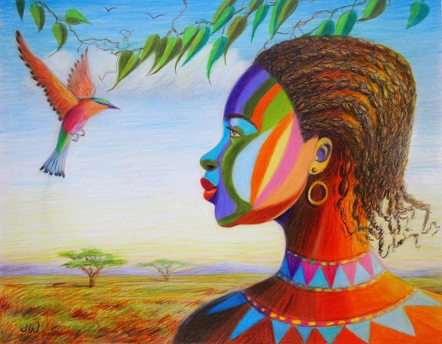 Watch the birdie by June Walker