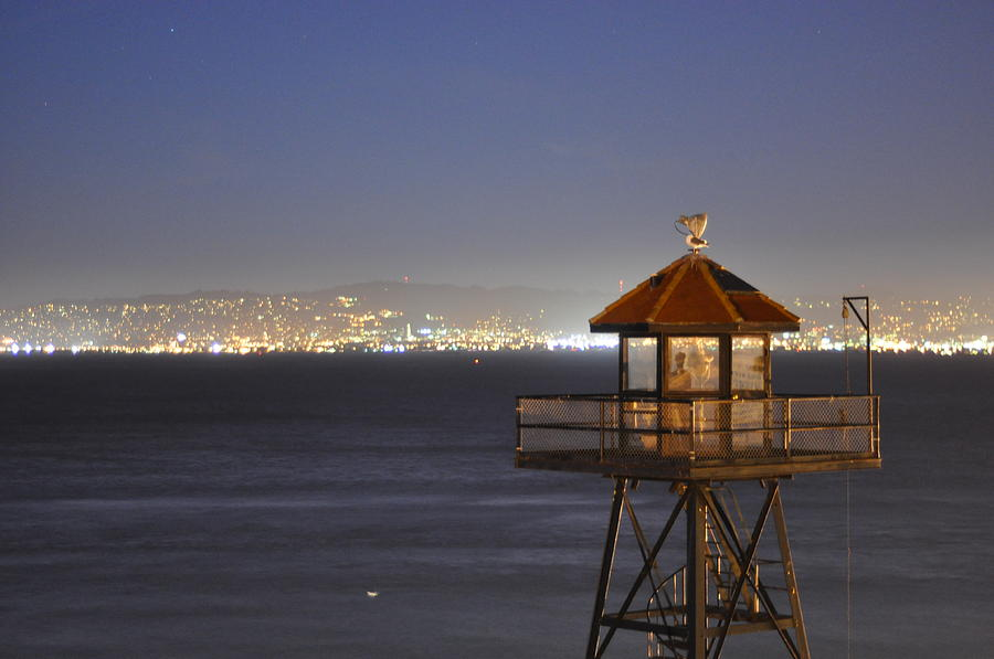 Alcatraz Photograph - Watch Tower Of The West by Greg McDonald