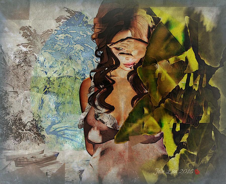 Watching Painting by Jolie Lisa