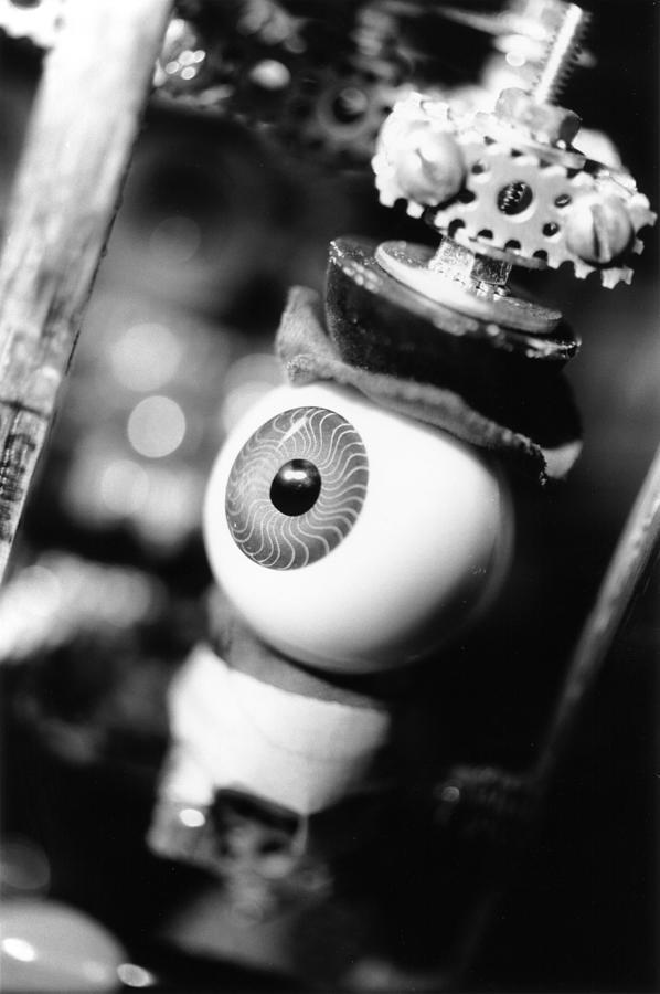 Eye Photograph - Watching You by Jeffery Ball