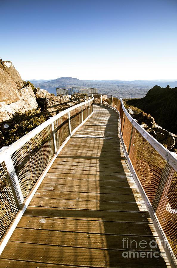 Bridge Photograph - Watchtower Lookout, Ben Lomond, Tasmania by Jorgo Photography - Wall Art Gallery
