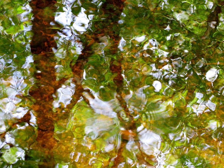 Abstract Photograph - Water Abstract 17 by Joanne Baldaia - Printscapes