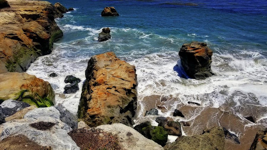 Water and Rocks by Eric Wiles