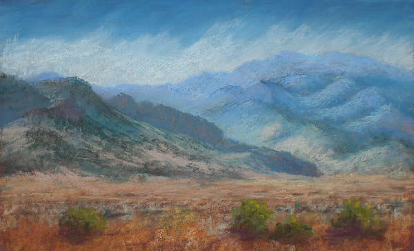 Landscape Painting - Water Canyon by Jo Castillo