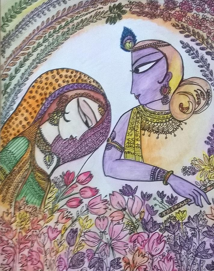 Water Color Work Painting by Seema Sharma