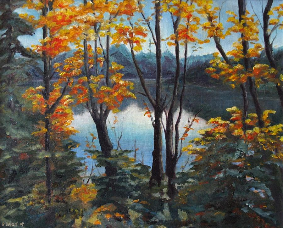 Landscape Painting - Water by Diane Daigle