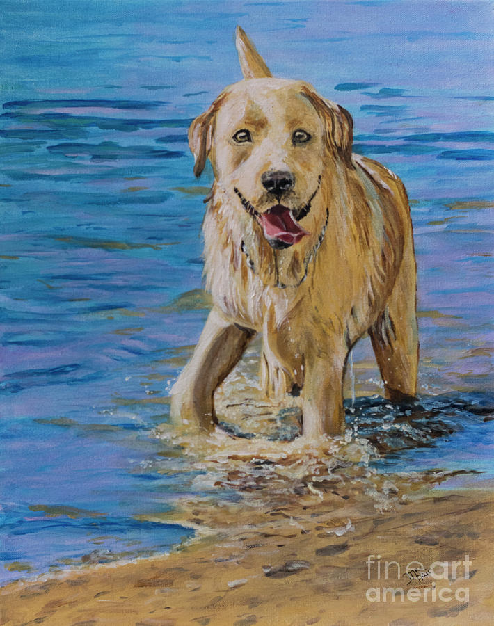 Water Dog by Jackie MacNair