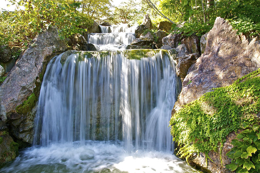 Waterfall Photograph - Water Fall  by Robert Joseph