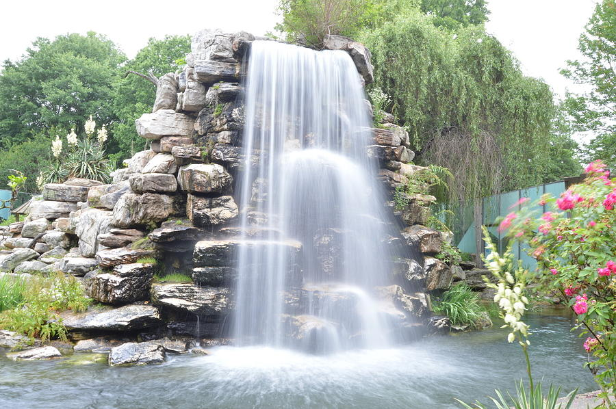 Landscape Photograph - Water Fall by Sarmad Alimam