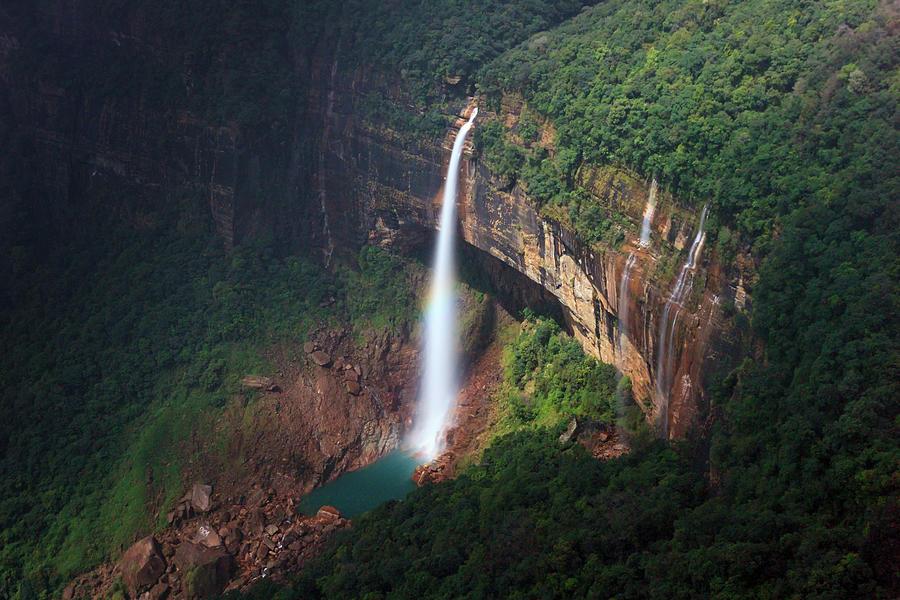 Water Falls at cherrapunji, India by Mahesh Balasubramanian