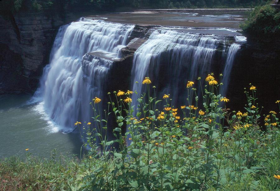 Waterfalls Photograph - Water Falls by Raju Alagawadi