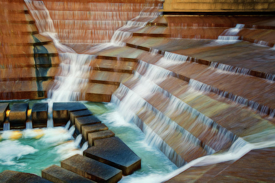 Water Gardens Abstract Photograph