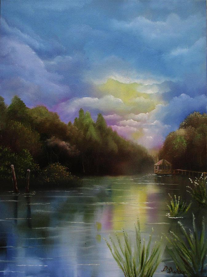 Water Gazebo by Debra Dickson
