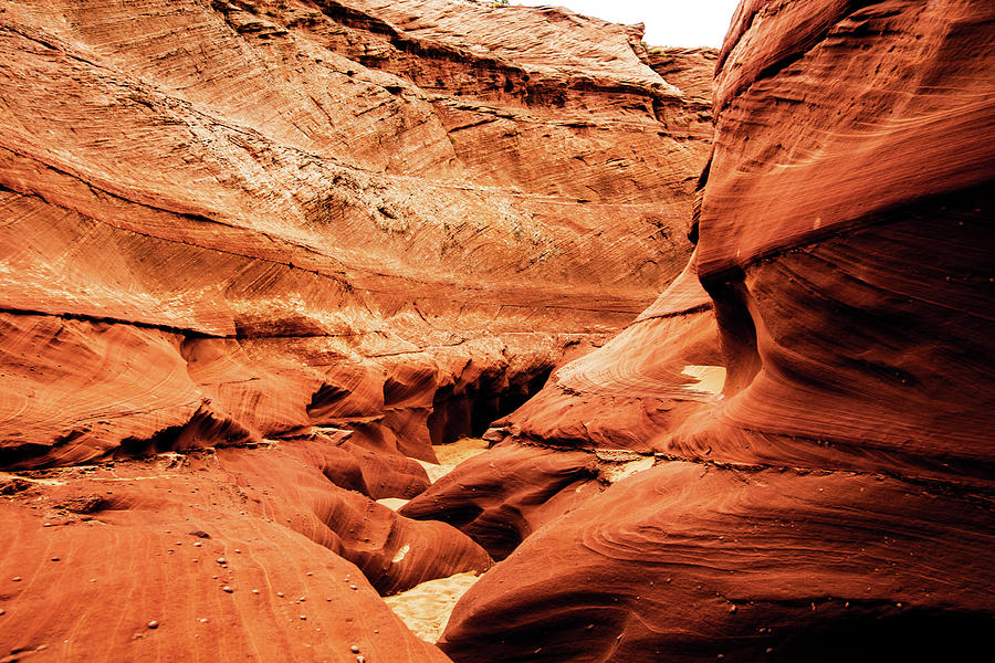 Water holes canyon  Photograph by Norman Hall