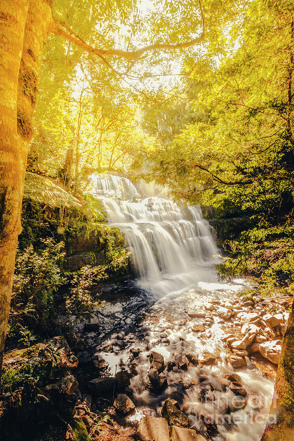 Fall Photograph - Water In Fall by Jorgo Photography - Wall Art Gallery