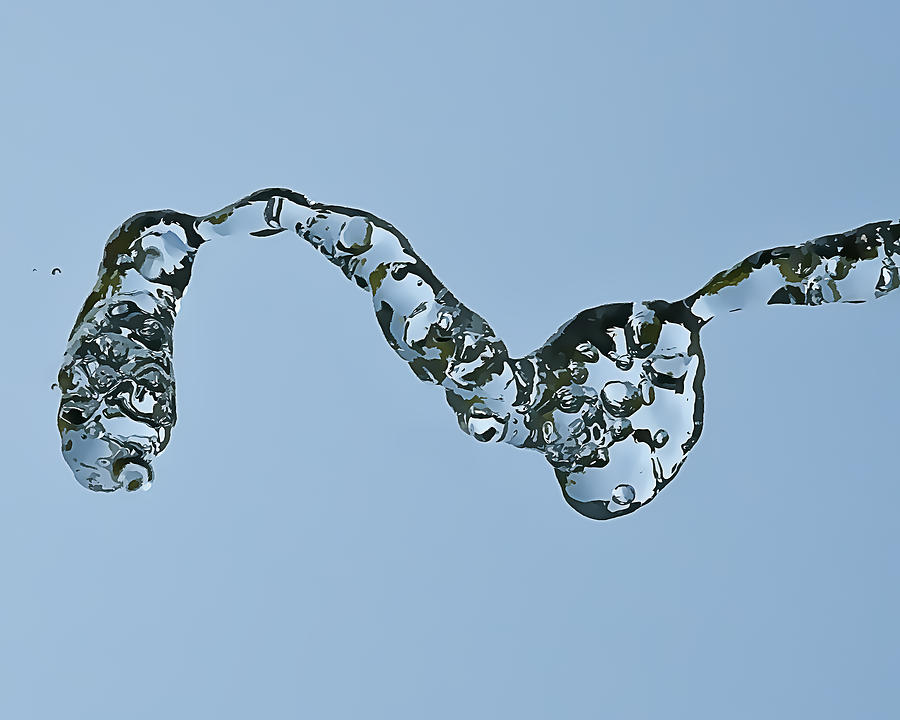 Water Photograph - Water In Flight  II by Gareth Davies