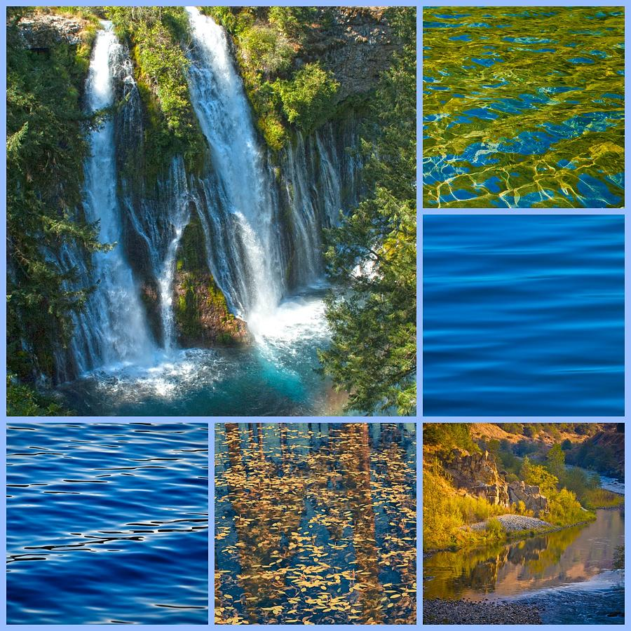 Water Is The Driving Force Of All Nature by Sherri Meyer