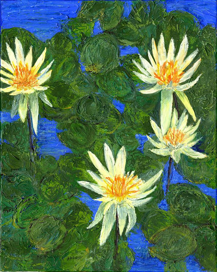 Water Lilies by Alice Faber