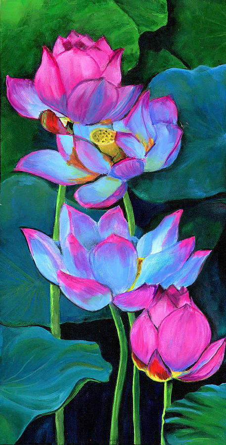 WATER LILIES by Debbie Brown