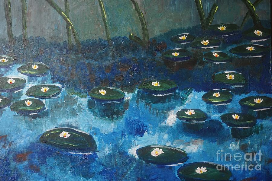 Water Lillies by Jimmy Clark