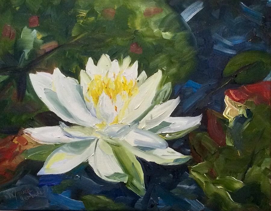 Impressionism Painting - Water Lily by Monica Ironside