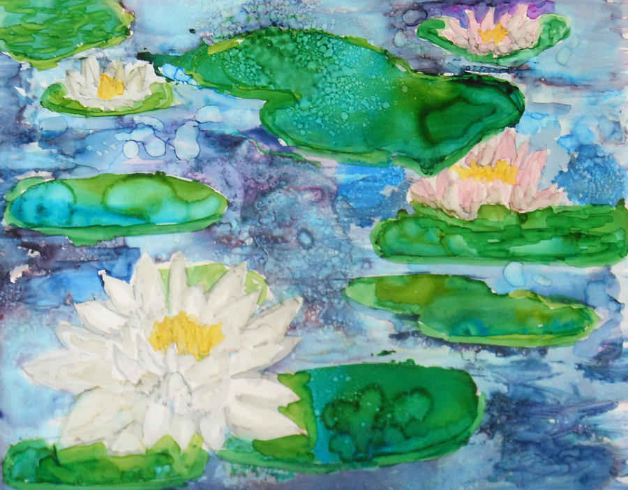 Water Lily by Pam Halliburton