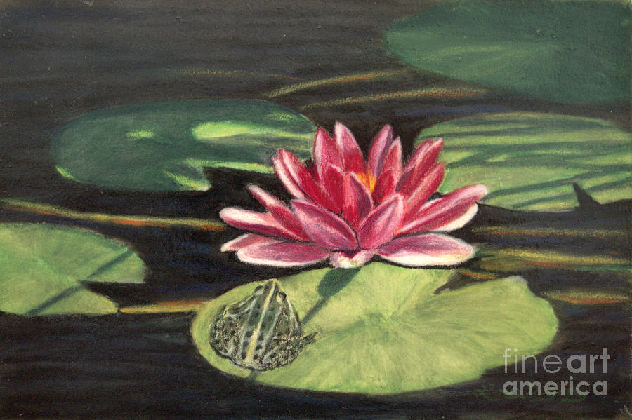 Water Lily Patio by Lora Duguay