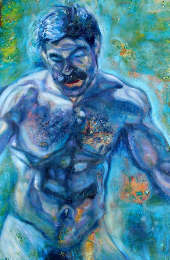 Water Man Painting
