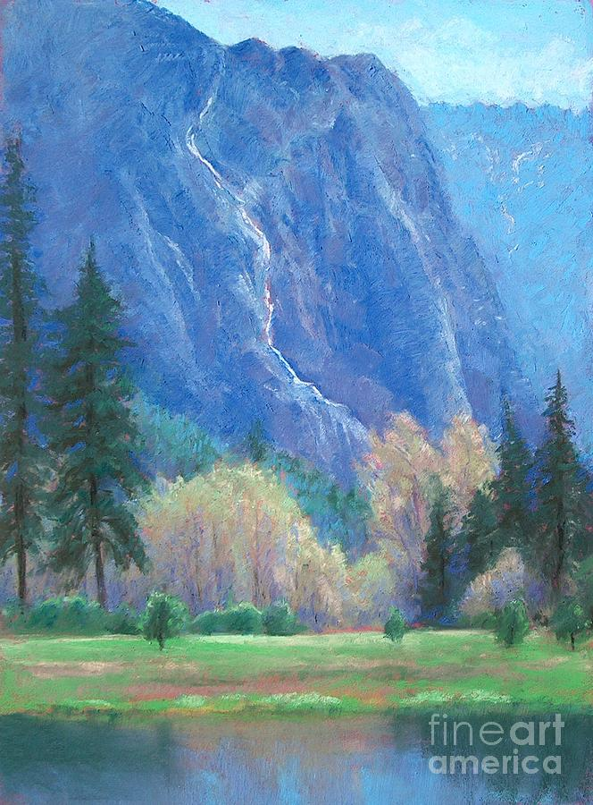 Yosemite National Park Painting - Water Meadow In April by Barbara Beaudreau