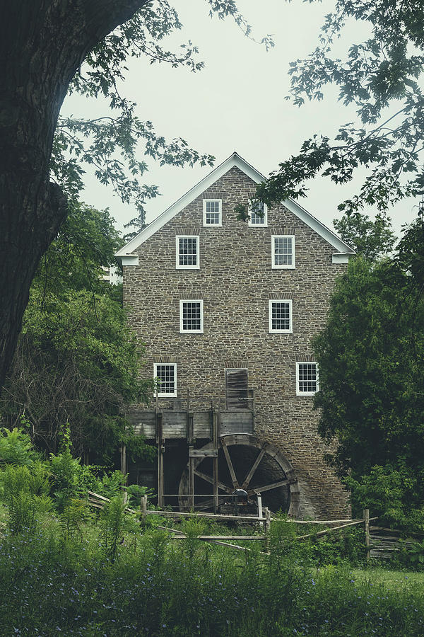 Cottage Photograph - Water Mill by Joana Kruse