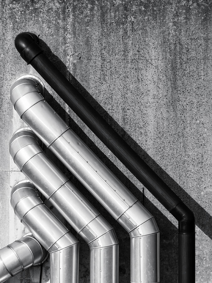 Water Photograph - Water Pipes by Wim Lanclus