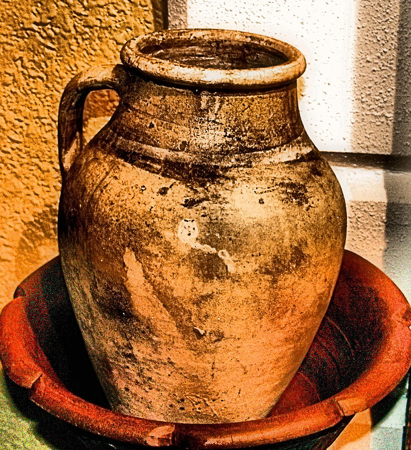 Old Photograph - Water Pitcher by Jimmy Ostgard