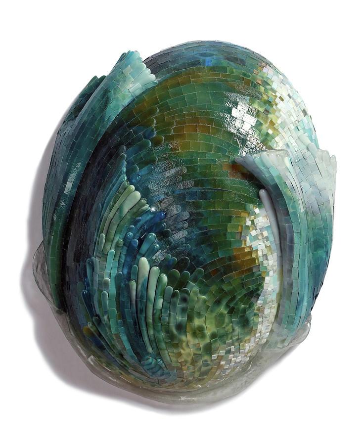 Water Ring II Glass Art