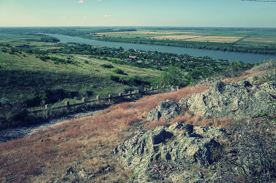 Impressive Photograph - Water Shapes Rock by Mihai Poiana