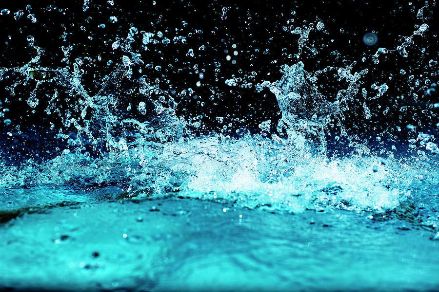 pool water splash. Horizontal Photograph - Water Splashing In Pool By Inti St. Clair Splash O