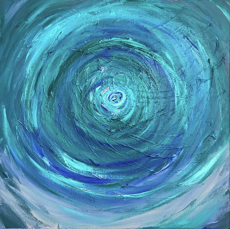 Water Swirl by Annette Hadley