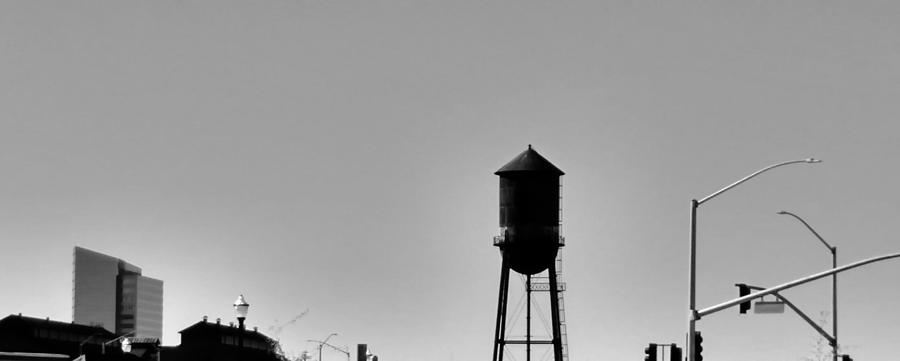Water Tank Photograph - Water Tank by Peggy Leyva Conley