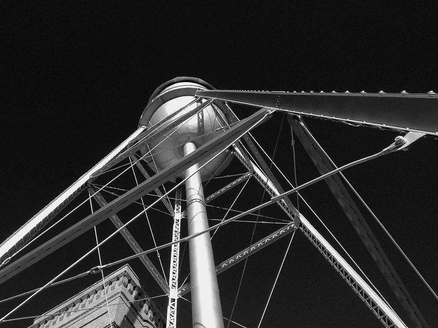 Architecture Photograph - Water Tower by Dick Goodman