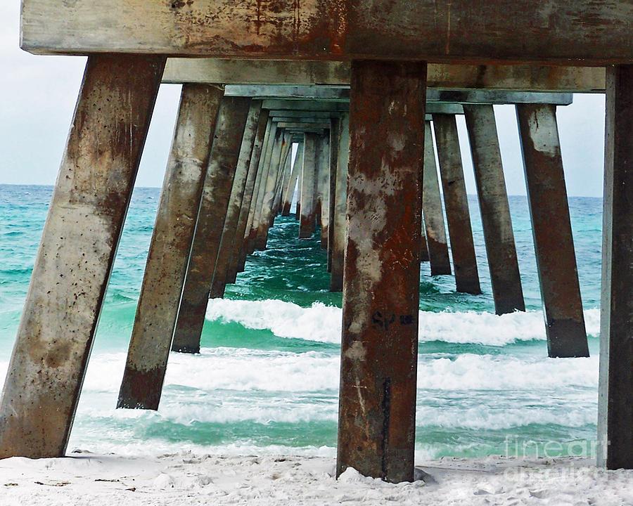 Florida Photograph - Water Under The Bridge by Amanda  Sanford