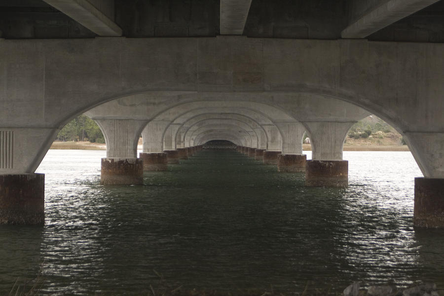 Bridge Photograph Water Under The Bridge By Walt Reece