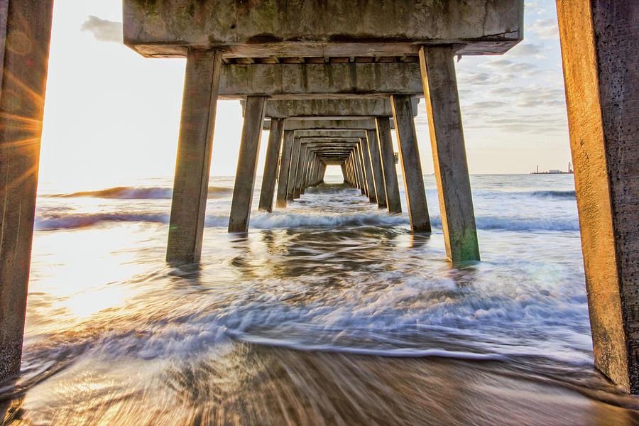 Water Under the Pier by Angel Sharum