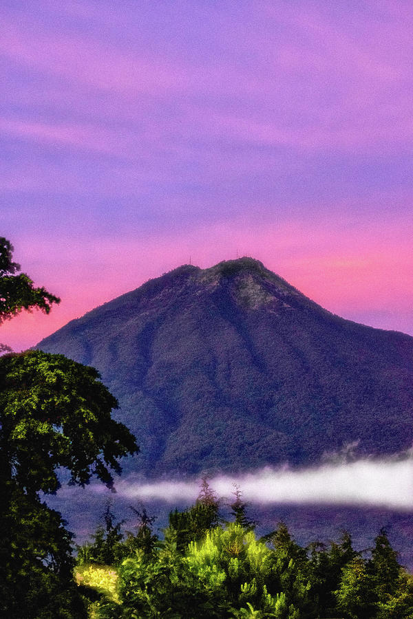 Volcan De Agua Photograph - Water Volcano, Guatemala by Totto Ponce